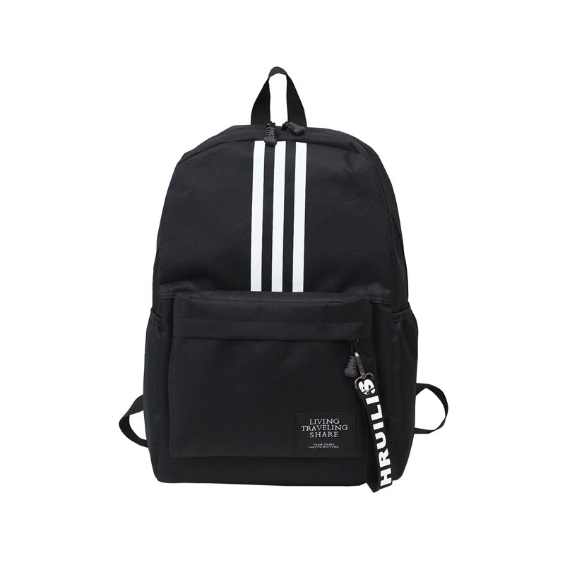 Рюкзак в стиле adidas черный