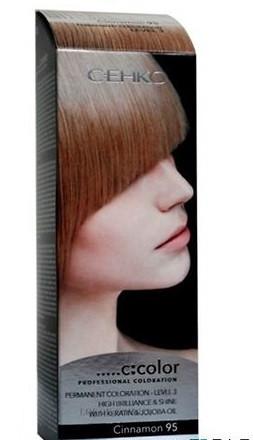 Стойкая крем-краска для волос C:EHKO C:COLOR тон 95 Корица