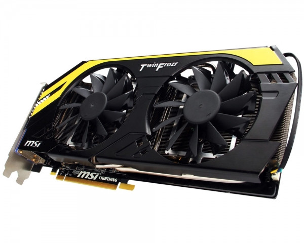 Видеокарта GeForce GTX680 2GB DDR5 MSI N680GTX Lightning ОЕМ