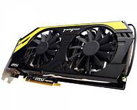Видеокарта GeForce GTX680 2GB DDR5 MSI N680GTX Lightning ОЕМ , фото 1