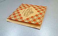 Уголки для выпечки или бургеров (с ламинированной бумаги, печать как на фото)