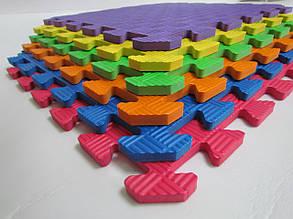 Детский мягкий пол-пазл 500*500*12 фиолетовый