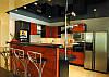 Гленцевый потолок кухня, фото 4