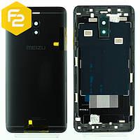 Meizu M6 Note задняя крышка (корпус) BLACK + стекло камеры
