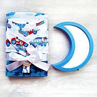 """Подарочный набор для новорожденного, на крещение, подарок на год """"Пилот"""", фото 1"""