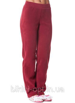 Теплі флісові жіночі штани, фото 2