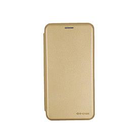 Чехол книжка для Xiaomi Mi8 боковой, G-Case Ranger Series, золотистый