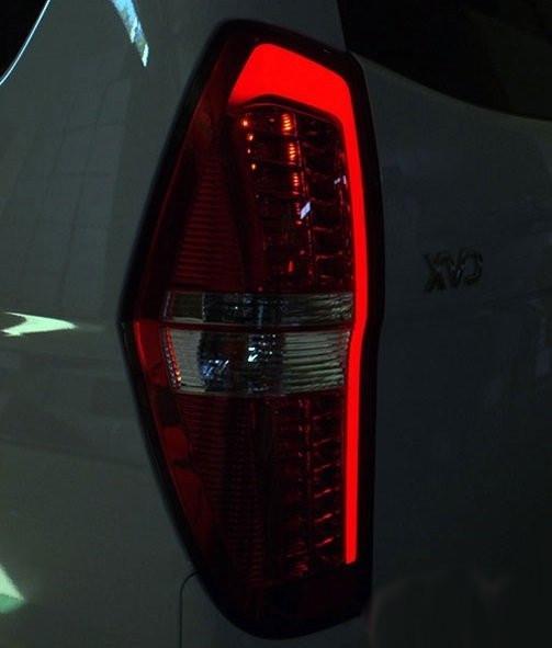 Задние фонари стопы Led тюнинг оптика Hyundai H1 красные