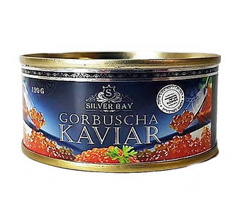 Ікра горбуші імітована Kaviar Silver Bay 140 г.