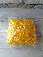 Наполнитель для коробок желтый  40гр