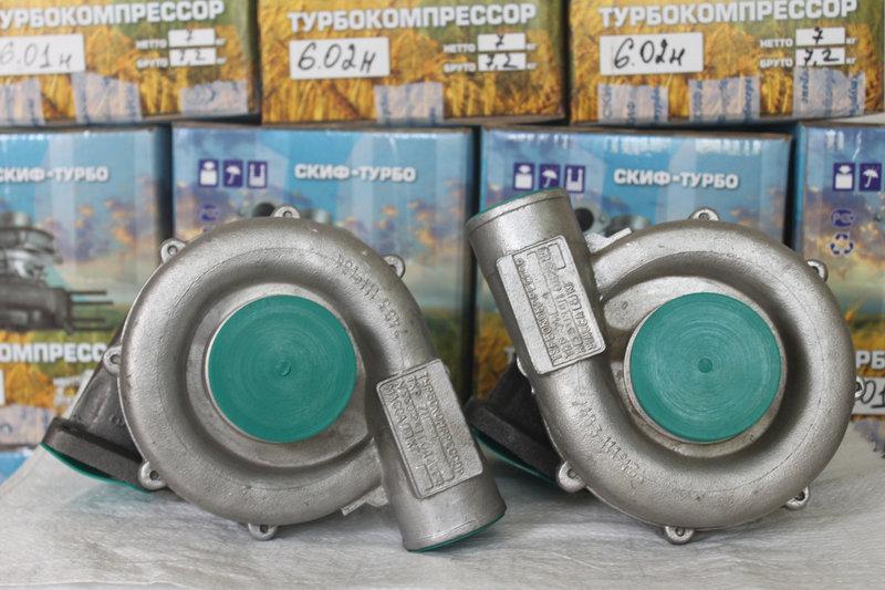 Турбокомпресор ТКР 7Н1 / Автомобіль КамАЗ 53212 / 54112