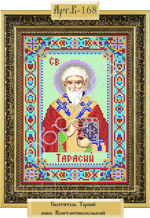 Схема для вышивки бисером «Святитель Тарасий епископ Константинопольский»