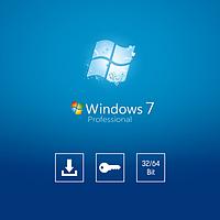 Операционная система Microsoft Windows 7 pro 32 / 64bit Лицензионный ключ