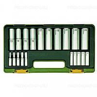 Специальный набор инструмента для звездообразных ТХ и шестигранных винтов PROXXON №23 290