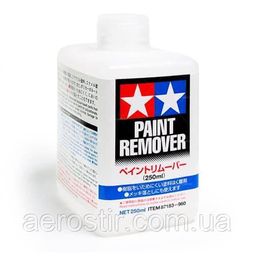 Очиститель поверхности от краски, 250 мл.TAMIYA 87183
