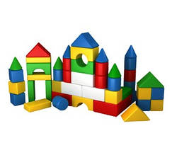 Конструктор кубики Радуга