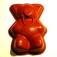 """Форма силиконовая для торта """"Медведь """" 29х20х6см, Италия"""