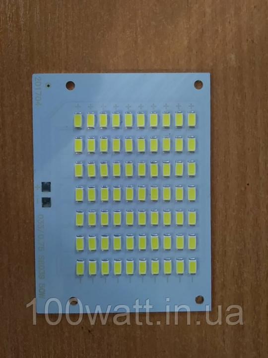 Светодиодная LED матрица SMD для прожектора 50 W