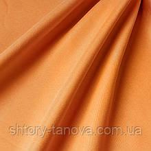 Подкладочная ткань оранжевого цвета с персиковой фактурой