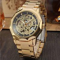 Механические женские наручные часы Winner Skeleton маятник оригинал