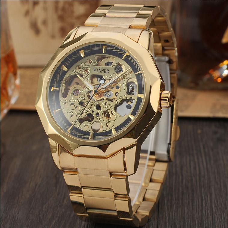 22c56c3f Механические женские наручные часы Winner Skeleton маятник оригинал ...