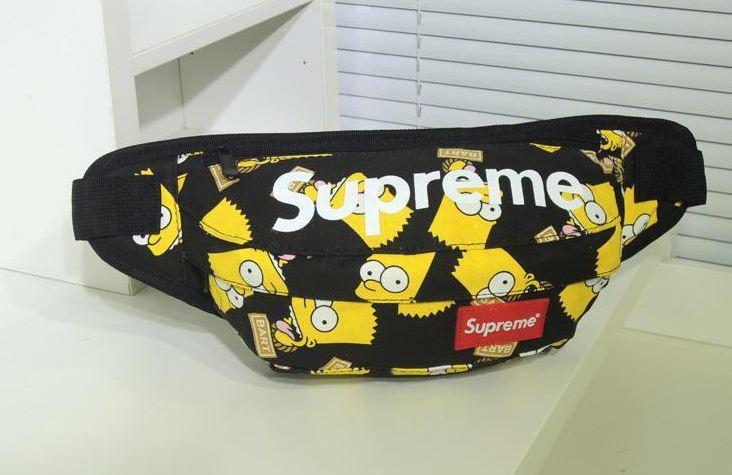 Сумка-банан Supreme yellow-black - Интернет магазин обуви Shoes-Mania в  Днепре b246be8ced7