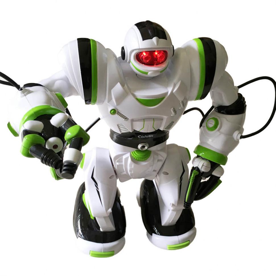 Игрушка Робот на радиоуправлении 28091 (Бело-зелёный)