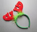 Ободки карнавальные Олени 2 цвета 12 шт/уп, фото 2