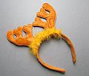 Ободки карнавальные Олени 2 цвета 12 шт/уп, фото 3