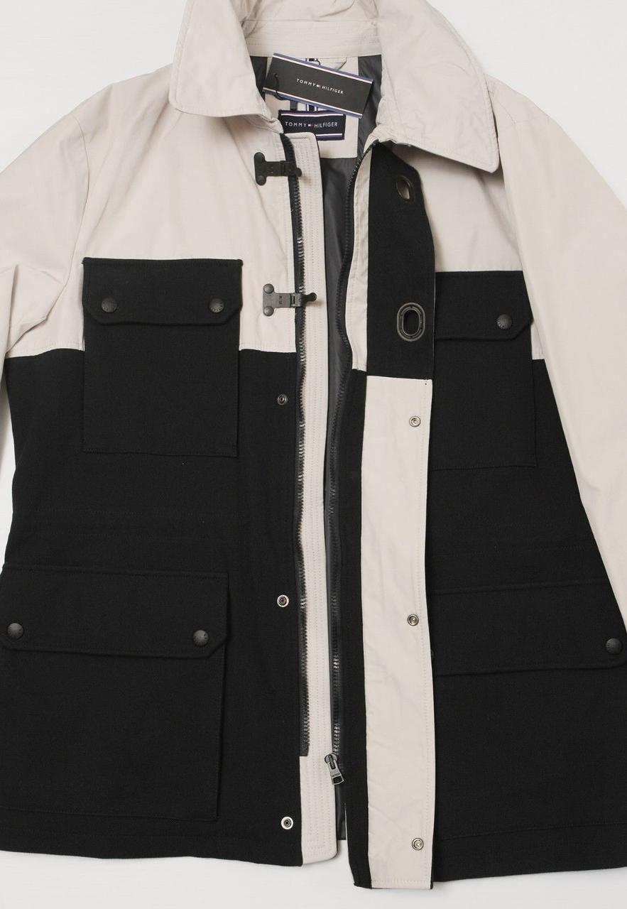 Мужская теплая демисезонная куртка Tommy Hilfiger XL оригинал! Томми Хилфигер