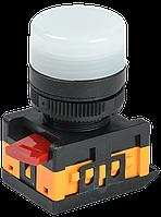 Лампа AL-22TE сигнальная d22мм неон/240В цилиндр