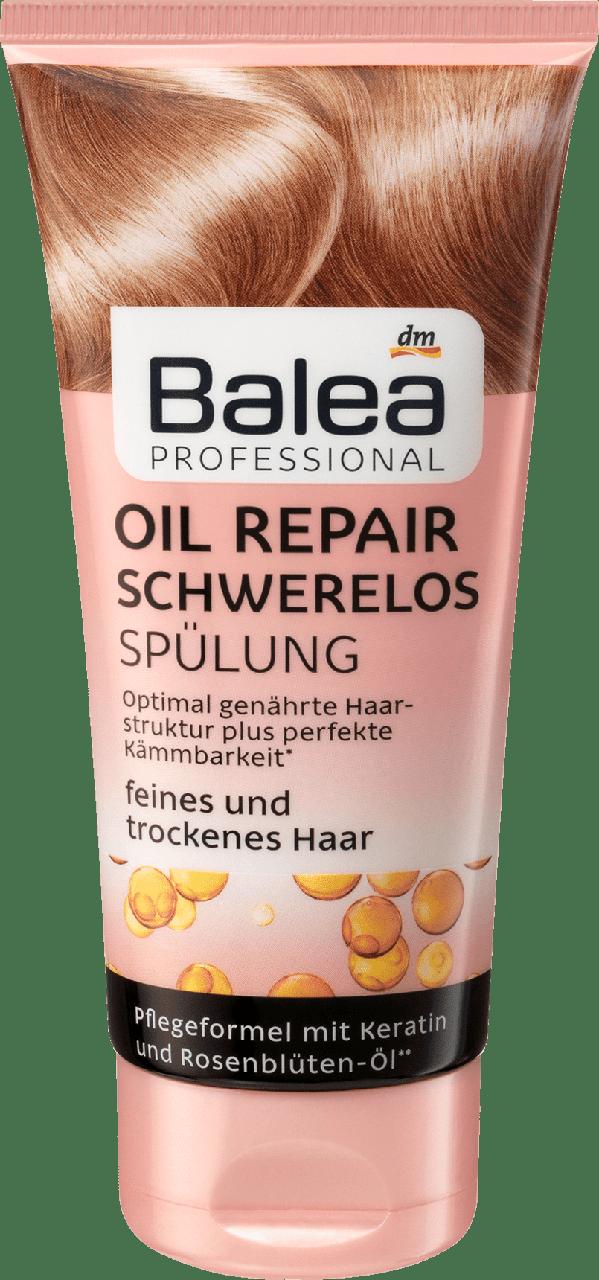 бальзам ополаскиватель Balea Professional Oil Repair Schwerelos продажа цена в тернопольской