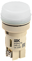 Лампа ENR-22 сигнальная d22мм неон/240В цилиндр