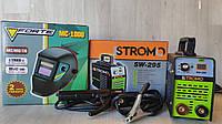 Сварочный аппарат инвертор STROMO SW 295 (295 А, дисплей) Сварка+ Маска ХАМЕЛЕОН