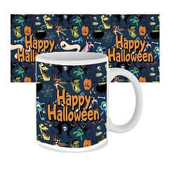 Чашка Happy Halloween Мультяшки