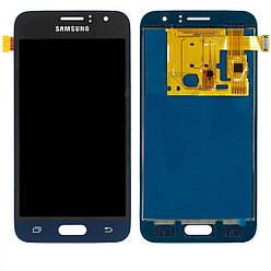 Дисплей Samsung J120 Galaxy J1 2016, TFT (подсветка - original), с тачскрином, Black