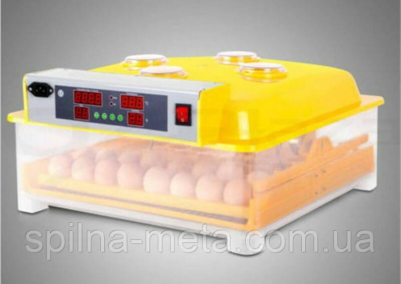 Інкубатор автоматичний для висиджування курячих, качиних, фазанових яєць
