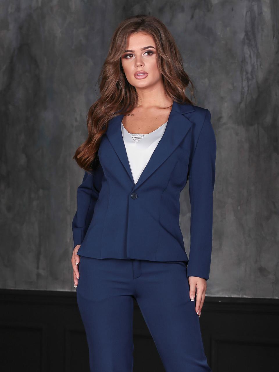 bc26a2f95720072 Темно-синий брючный Костюм с пиджаком: продажа, цена в Одессе ...