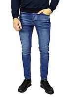 Cиние мужские джинсы зауженные ARMANI JEANS, фото 1