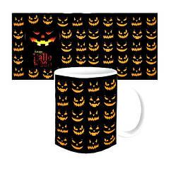 Чашка Happy Halloween Джек