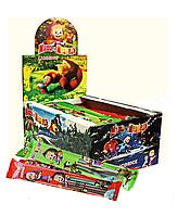 Мармеладные конфеты в виде палочки в сахаре Маша и Медведь со вкусом Ассорти 35г/24шт