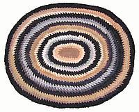 Овальный коврик ко входной двери, размер 1м х 80см