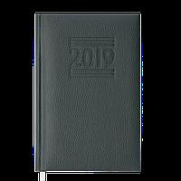 Ежедневник датированный 2019 BELCANTO, A6, 336 стр., т.-зеленый 2536-16, фото 1