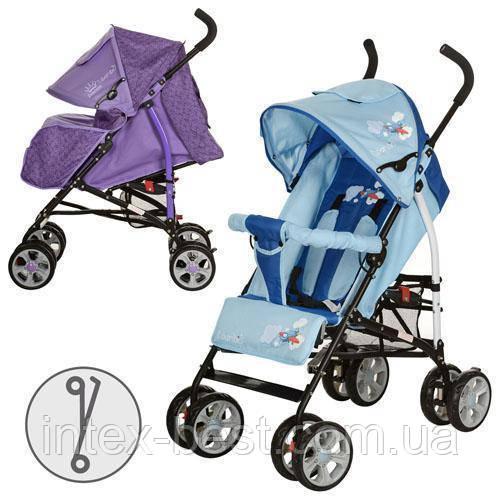 Детская коляска-трость BAMBI (M 2104-1) (Фиолетовый)