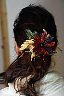 Зажим для волос, Рождествеский цветок., фото 1