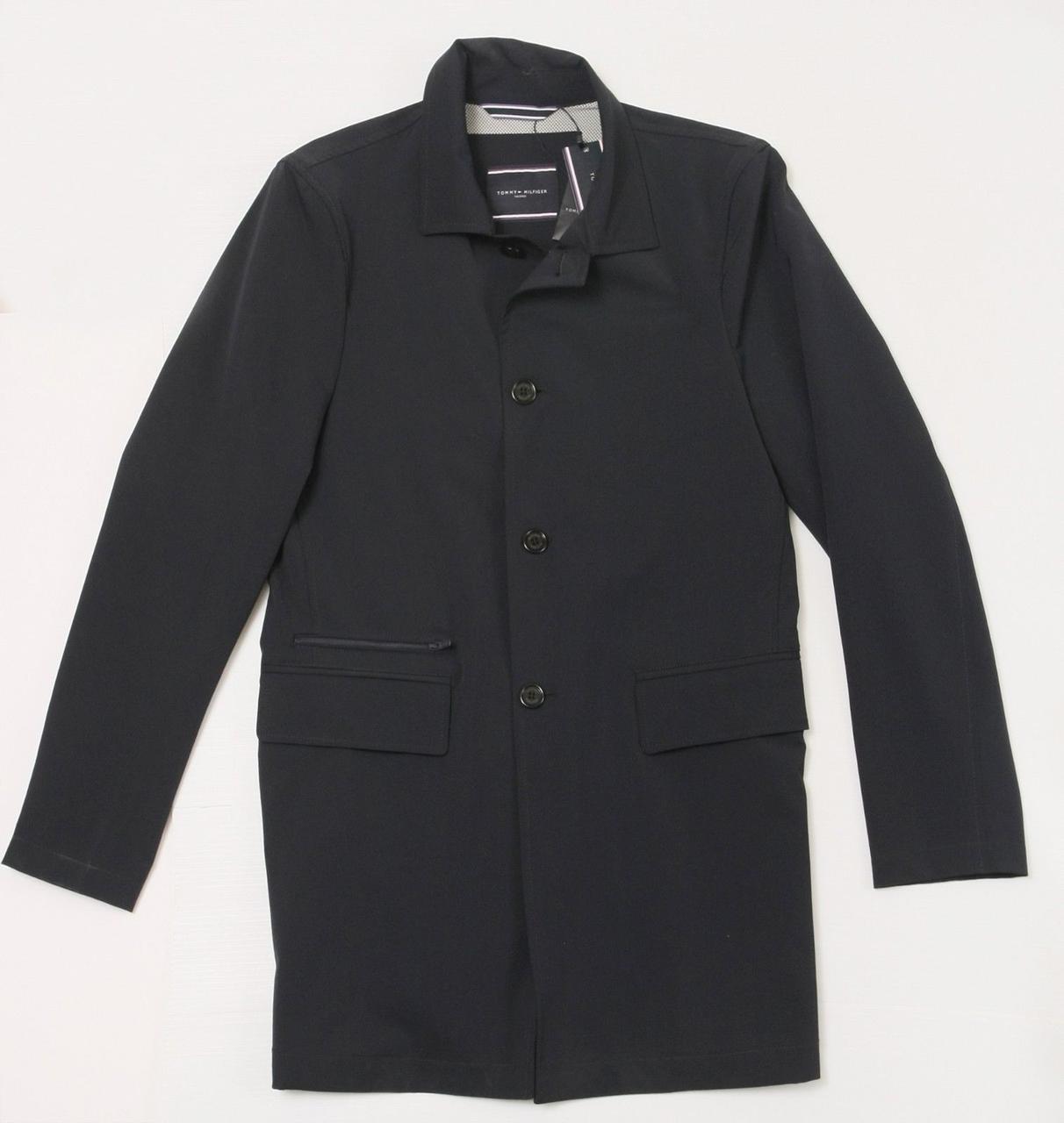 Мужская элегантная демисезонная куртка Tommy Hilfiger - деловой стиль, оригинал! Томми Хилфигер