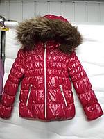 Детская куртка  бордовая 104 рост, фото 1