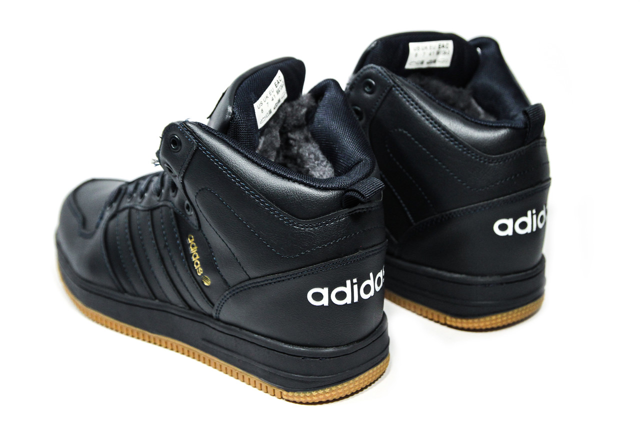 ... Зимние ботинки (на меху) мужские Adidas Cloudfoam (реплика) 3-046, ... cc3c15280dd