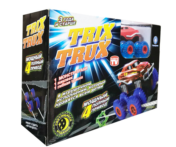 Машинка монстр-траки Trix Trux (3 детали)