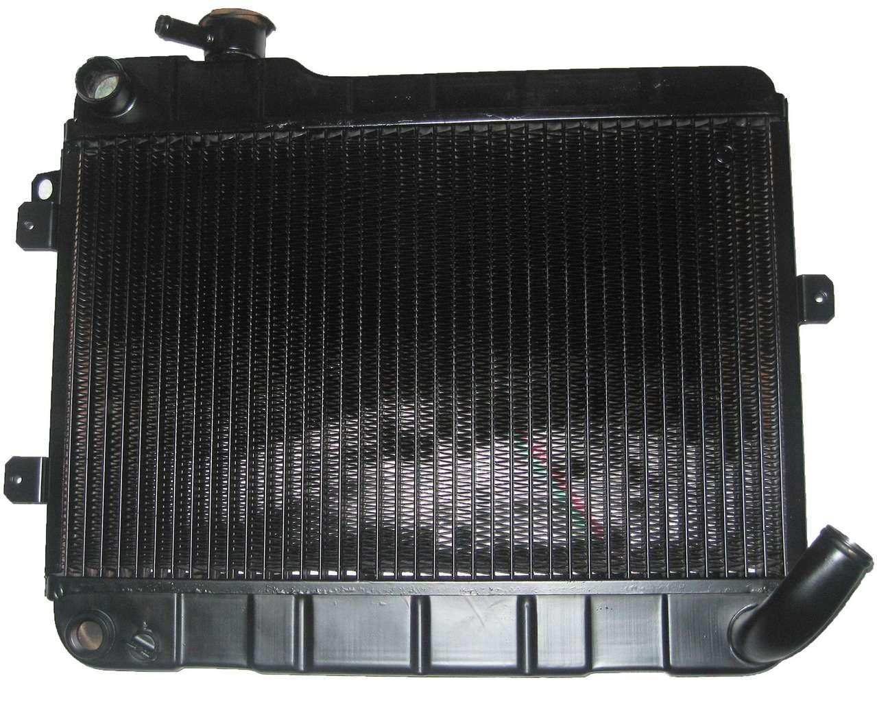 Радиатор медный ВАЗ 2105,2107 (2-х рядный)